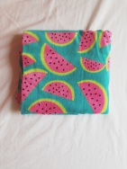 Watermelon towel £5 Asda