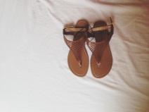 sandals £4 Primark