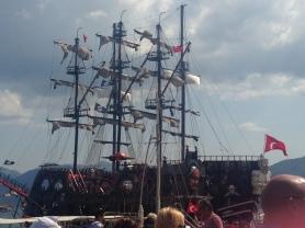 Pirate ship ARG