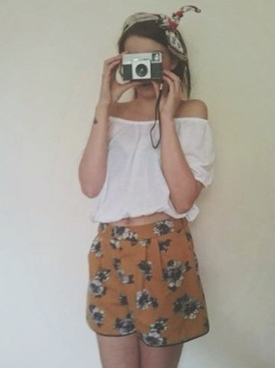 Gypsy Warrior~ Shorts £30 miss Selfridge~ Top £4 Primark Head scarf £4.99 H&M