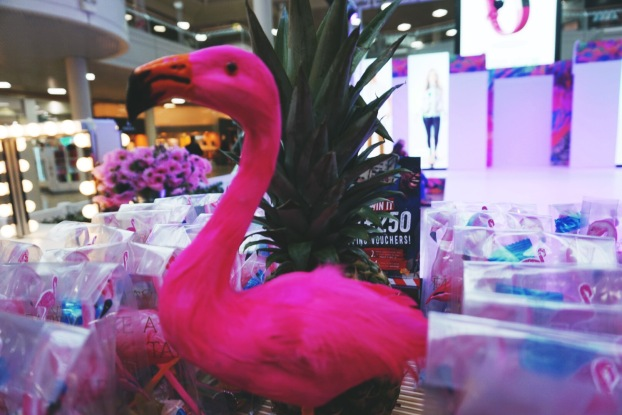Flamingo's and Fashion - Available at Paperchase
